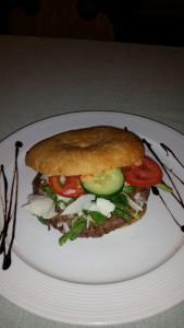 Burger Spezial @ Gasthaus Pflamminger