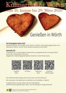 Kulinarisches Wörth @ Gasthaus Pflamminger
